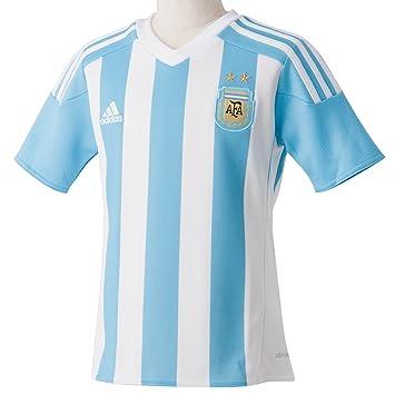 adidas AFA H JSY Y - Camiseta para hombre, color blanco/azul/dorado, talla 164: Amazon.es: Deportes y aire libre