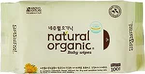 Lovesprings Natural Organic Original Plain Wet Wipes Refill Case, Pack of 10