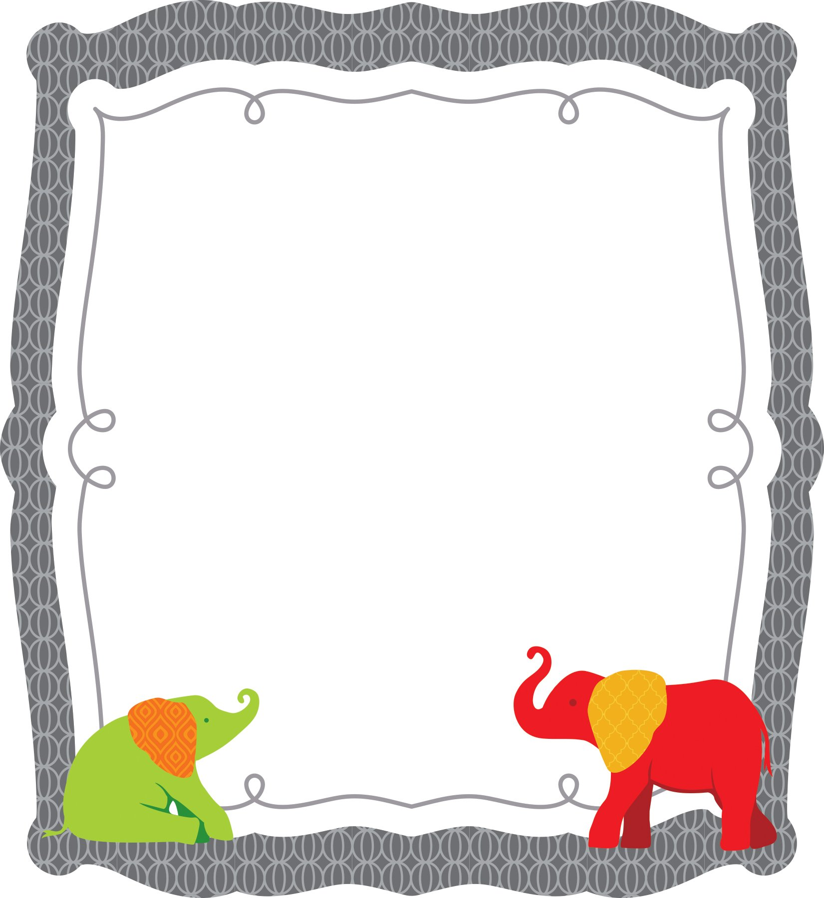Parade of Elephants Cut-Outs ebook