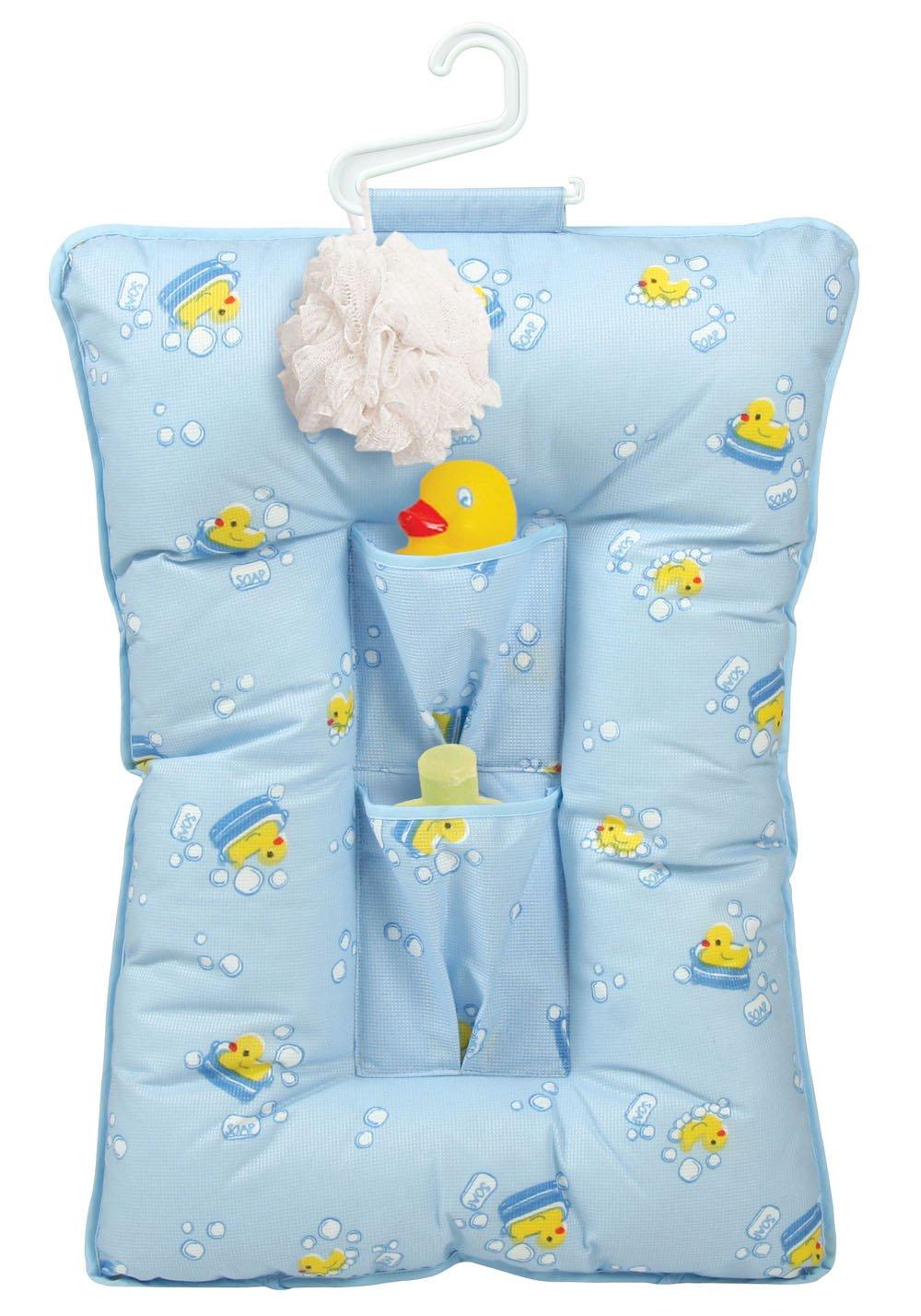 Amazon.com : Leachco Comfy Caddy, Blue Ducks : Baby Bathing Seats ...
