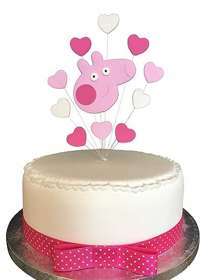 Karens Cake Toppers Peppa Pig - Decoración para tarta de ...