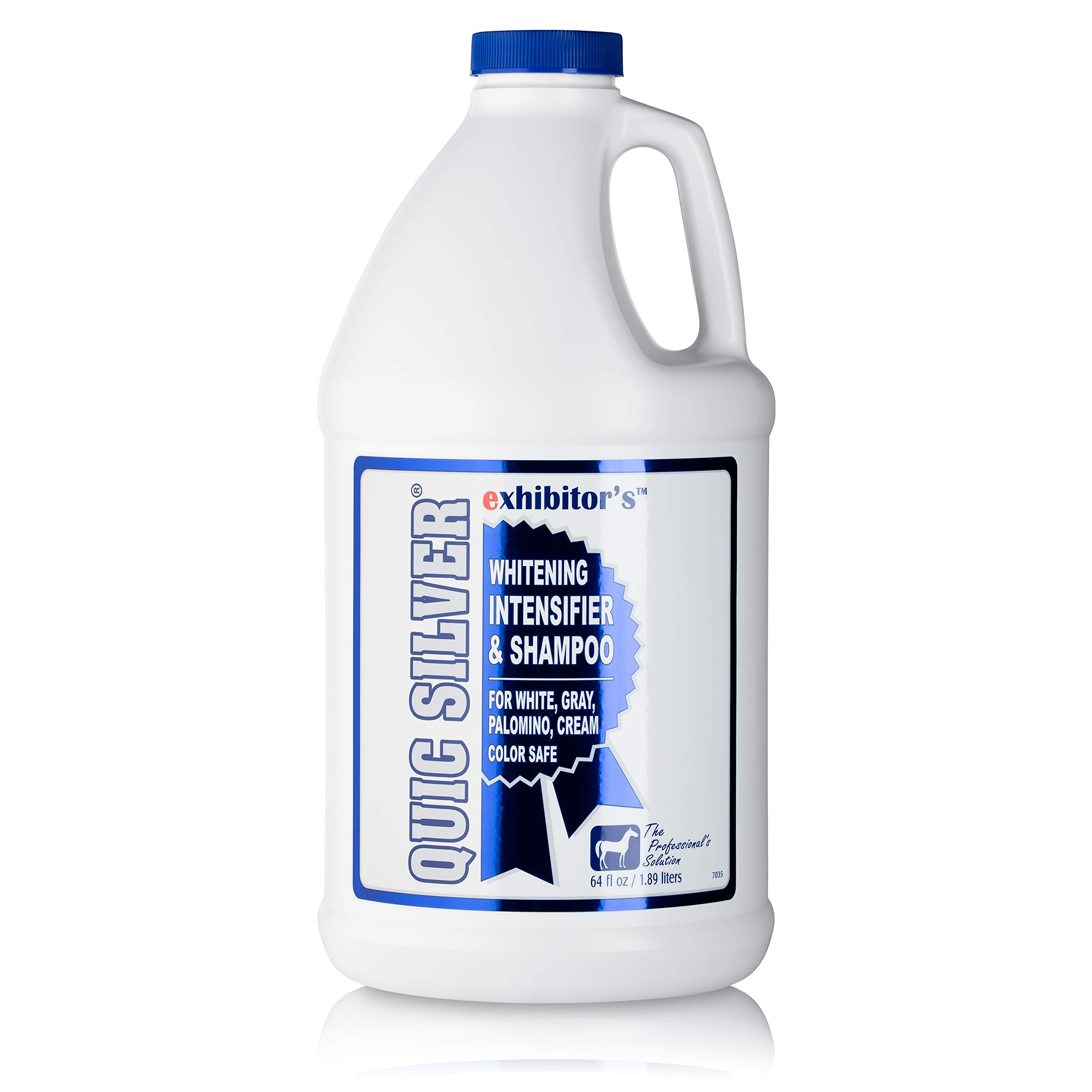exhibitor's Quic Silver Color Intensifying Horse Shampoo 64 Ounce
