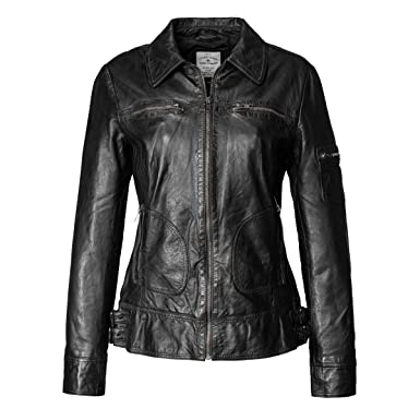 Tom tailor biker lederjacke damen