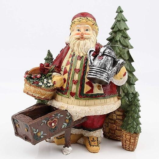 Kneeling Santa Claus Christmas Tree Ornament 3 Inch Tall Home Decoration
