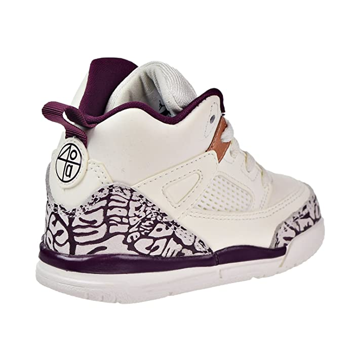 lowest price 23c33 653c4 Amazon.com   Jordan Spizike GT Toddlers Basketball Shoes Sail Bordeaux-Metallic  Red Bronze 684932-132   Shoes