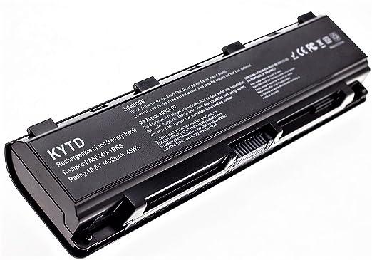 KYTD Batería de repuesto para portátil for Toshiba part number PA5023U-1BRS, PA5024U-1BRS, PA5025U-1BRS, PA5026U-1BRS, PABAS259, PABAS260, PABAS261, ...