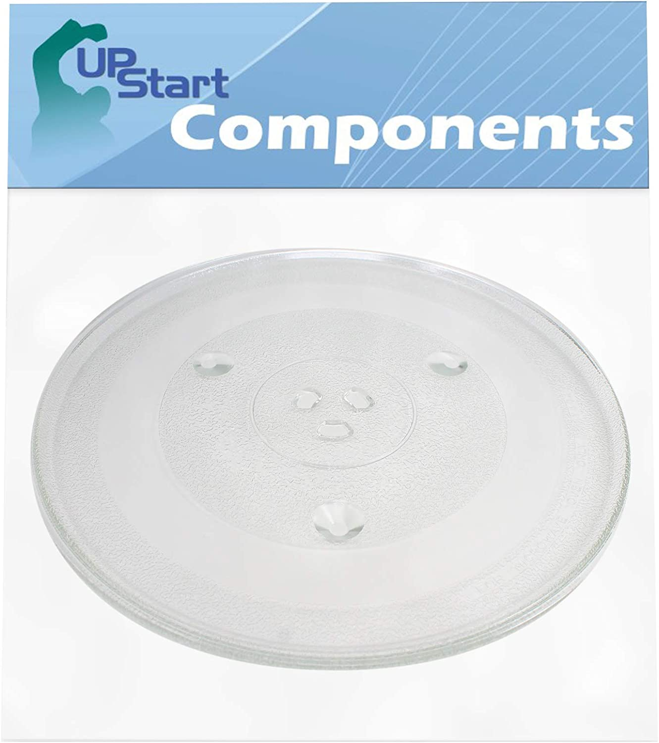 P34 Microwave Glass Turntable Plate Replacement for Hamilton Beach P100N30ALS3B - Compatible with P34 12 3/8 Inch Glass Tray
