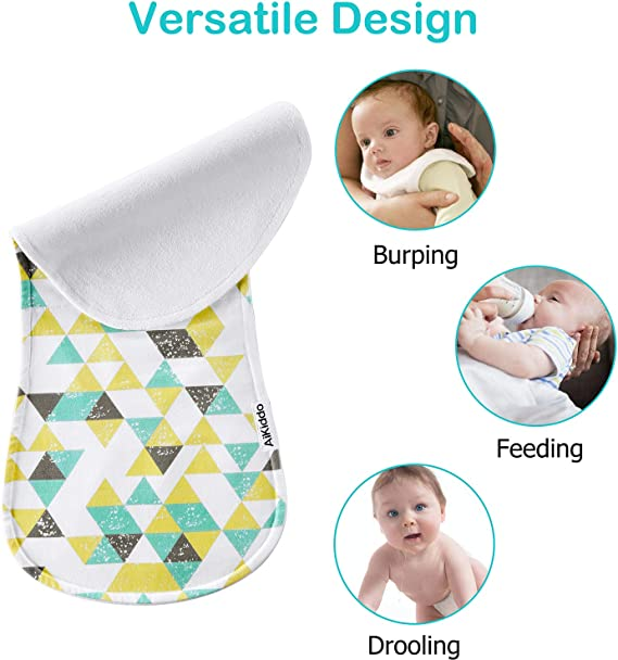 Feeding Needs For Babies Bib and Burp Cloth Set Xmas Stocking Stuffers Flannel Blanket Baby Shower Gift Under 35 Rag For Infants
