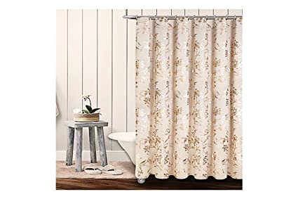 Amazon Colordrift Wildflower 72 Inch X Shower Curtain