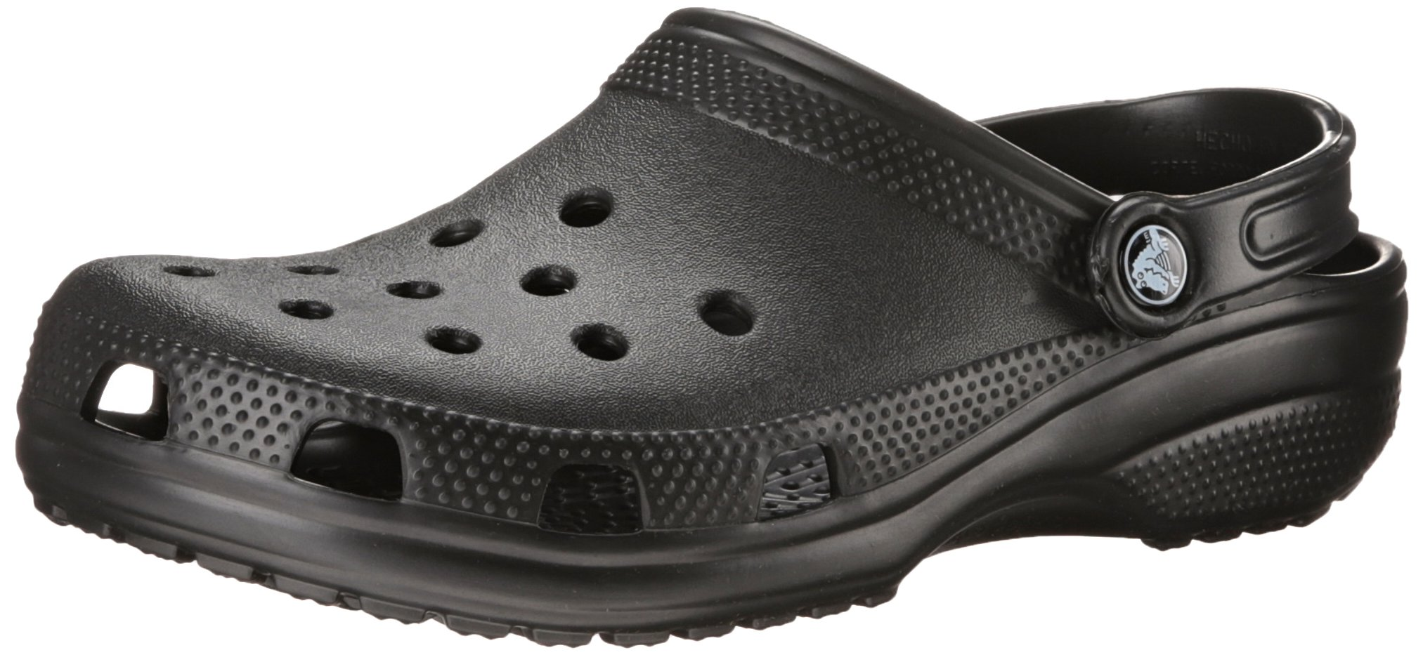 Crocs Unisex Classic Clog, Black, 11 US Men / 13 US Women by Crocs