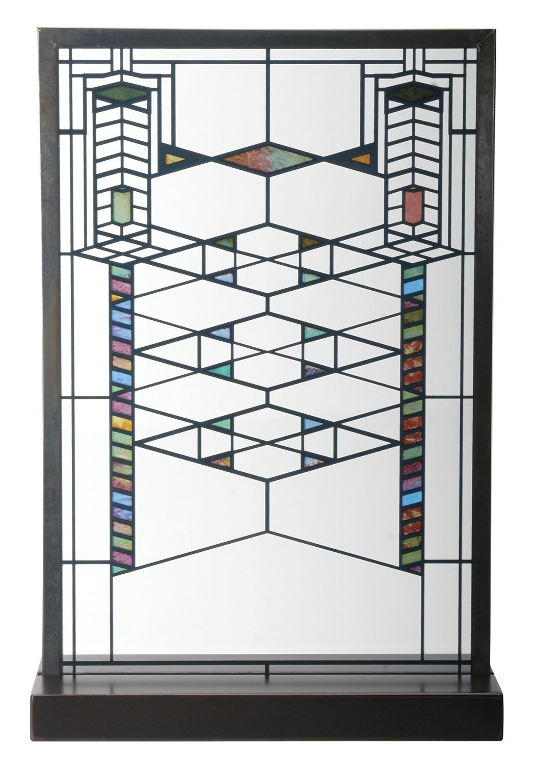 amazon com frank lloyd wright robie house stained glass
