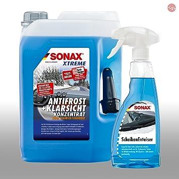 SONAX Xtreme anticongelante (& Transparente Concentrado 5L ABC ...