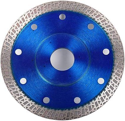 taglio di porcellana marmo e ceramica piastrelle granito Disco diamantato 115 mm lama per sega sottile turbo per smerigliatrice angolare rosso
