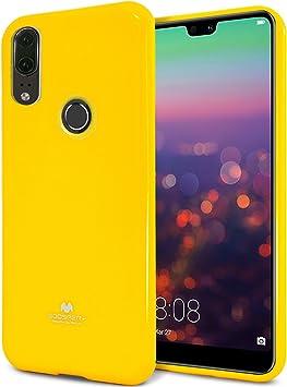 MingWei Funda para Huawei P20 Lite, Jalea de Perla, Purpurina ...