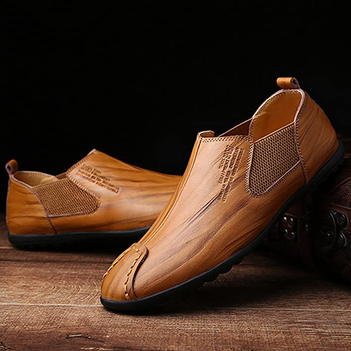 Chaussures de mariage Gracosy marron Casual homme 6czKRhqEq2