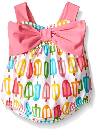 245666ff2a Amazon.com  Mud Pie Toddler Girls  Popsicle Swimsuit  Clothing