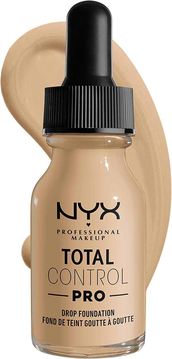 NYX TOTAL CONTROL drop foundation nude 13 ml