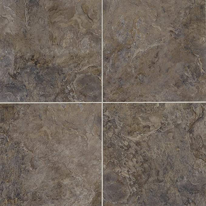 Mannington Hardware AT242 Adura Luxury Athena Vinyl Tile Flooring Grecian Grey