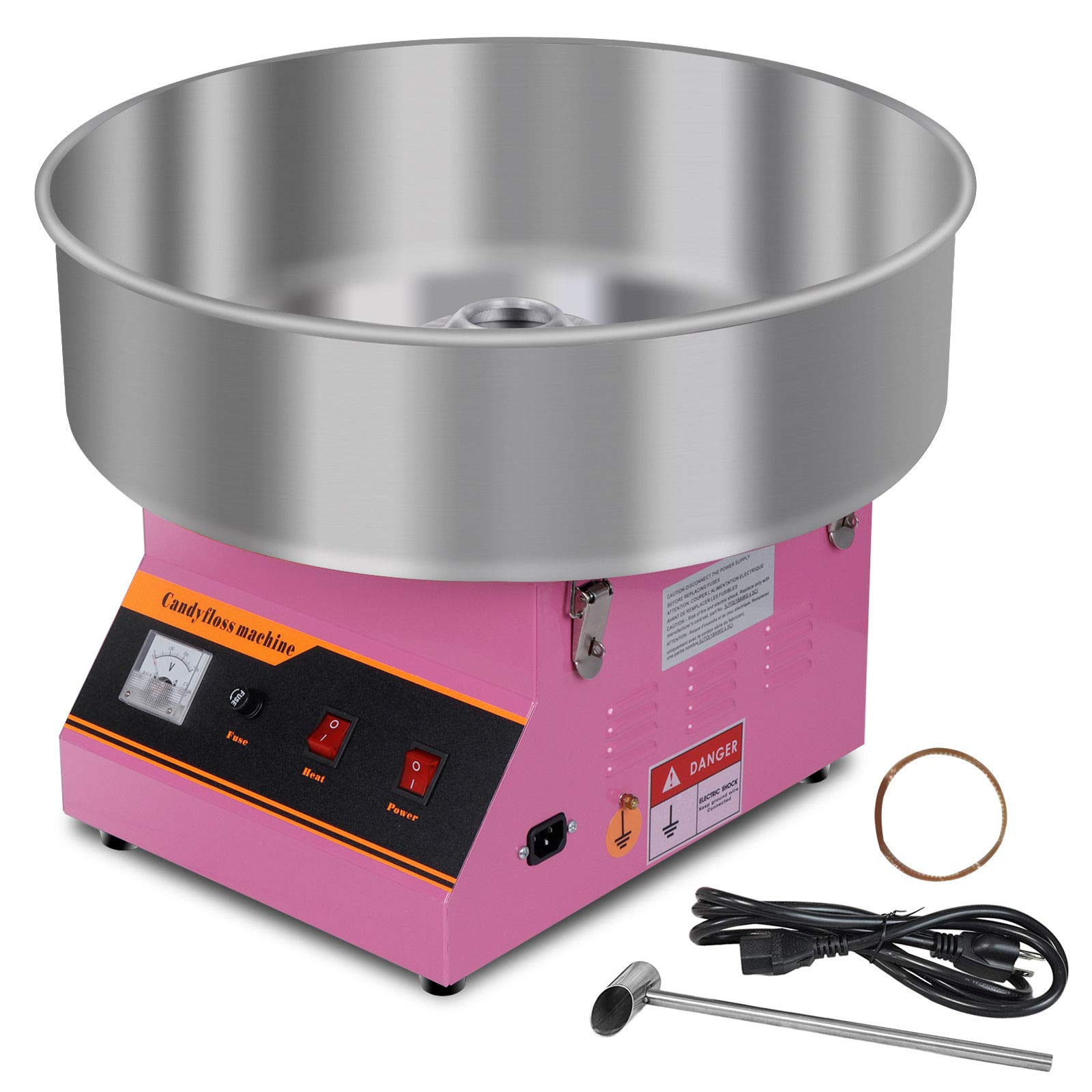 M2 Outlet Electric Cotton Candy Machine