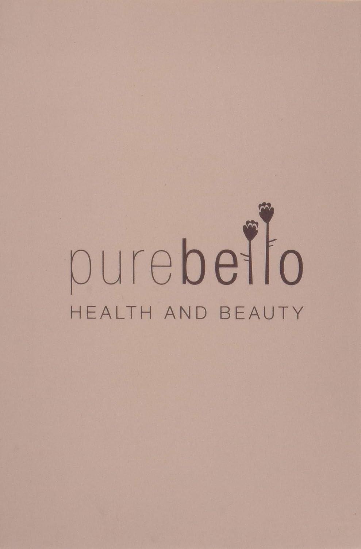 Purebello 4-Piece Stainless Steel Tweezer Set with Leather Travel Case by Purebello: Amazon.es: Belleza
