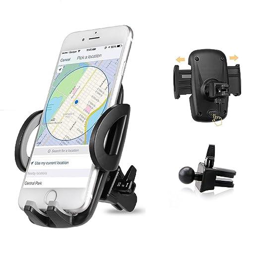80 opinioni per Supporto Auto Smartphone, iAmotus Auto Porta Cellulare 360 Gradi di Rotazione