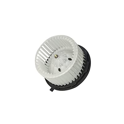 AC Heater Blower Motor - Fits Chevy Silverado, Tahoe, Avalanche, Suburban, Escalade, ESV, GMC Sierra, Yukon, Hummer H2 - Replaces 15-81683, 22741027, 20760618, 700164 - Automatic Temperature Control: Automotive