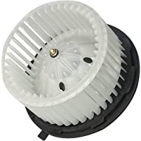 AC Heater Blower Motor - Fits Chevy Silverado, Tahoe, Avalanche, Suburban, Escalade, ESV, GMC Sierra, Yukon, Hummer H2 - Replaces 15-81683, 22741027, 20760618, 700164 - Automatic Temperature Control