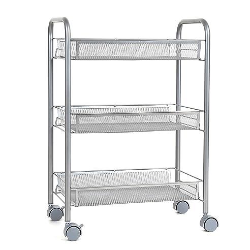 homfa küchenwagen servierwagen platzsparend rollwagen metall