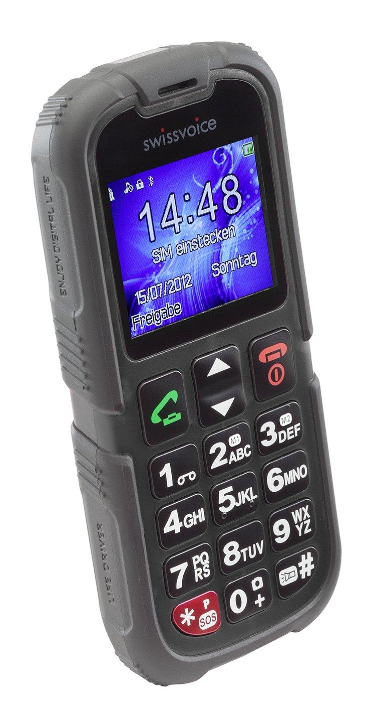 Téléphone GSM SWISSVOICE SV39 NOIR