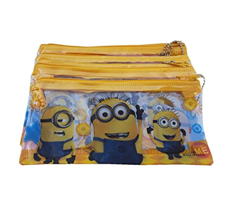 Buy Asera 24 Pcs Kids Plastic Pencil Pouch For Birthday Return Gifts Minions Design Online At Low Prices In India