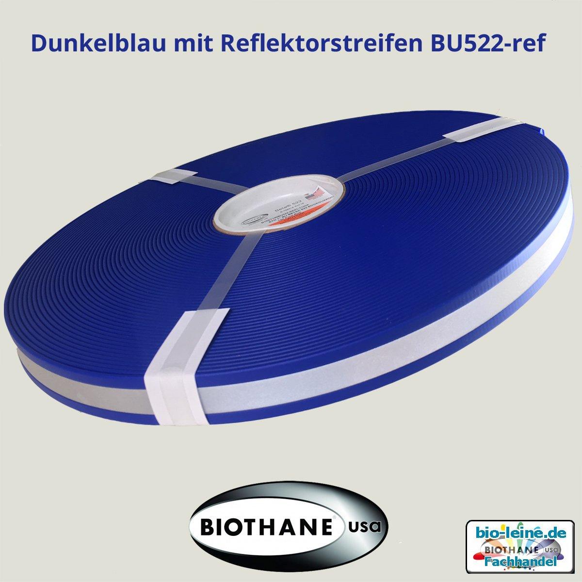 Tiras con reflectante 20/colores y 2/anchos Beta biothane/® con reflectante