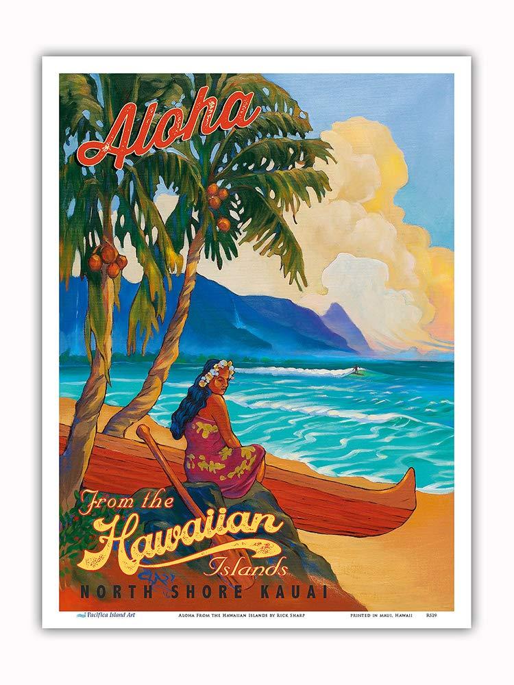 Pacifica Island Art Aloha Desde Las Islas de Hawai-North ...