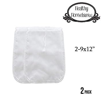 Amazon.com: Bolsas coladoras de malla para leche de almendra ...