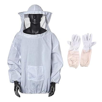Amazon.com: Xntun Traje profesional de Bee Keeping Suit ...