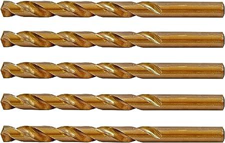 Heavy Duty Drill Bit with Split point 21//64-Inch 6-Piece Multi-Pack