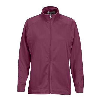 4fab0e48 Vantage Women's Brushed Back Micro-Fleece Full-Zip Jacket, Berry Pink, X