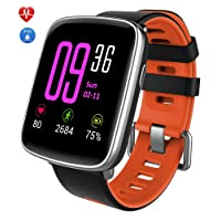 Smart Watch,YAMAY Blutooth Smartwatch Impermeabile IP68 Orologio Fitness Tracker Watch Cardiofrequenzimetro da Polso Touch Screen Fitness Activity Tracke