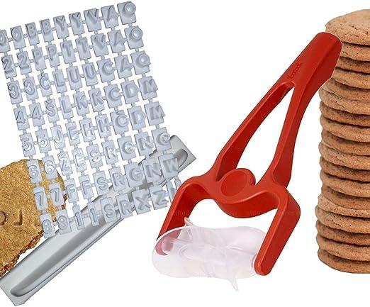 kit imprimerie YooCook Lot sp/écial Biscuits /à Imprimer Roulette /à Biscuits