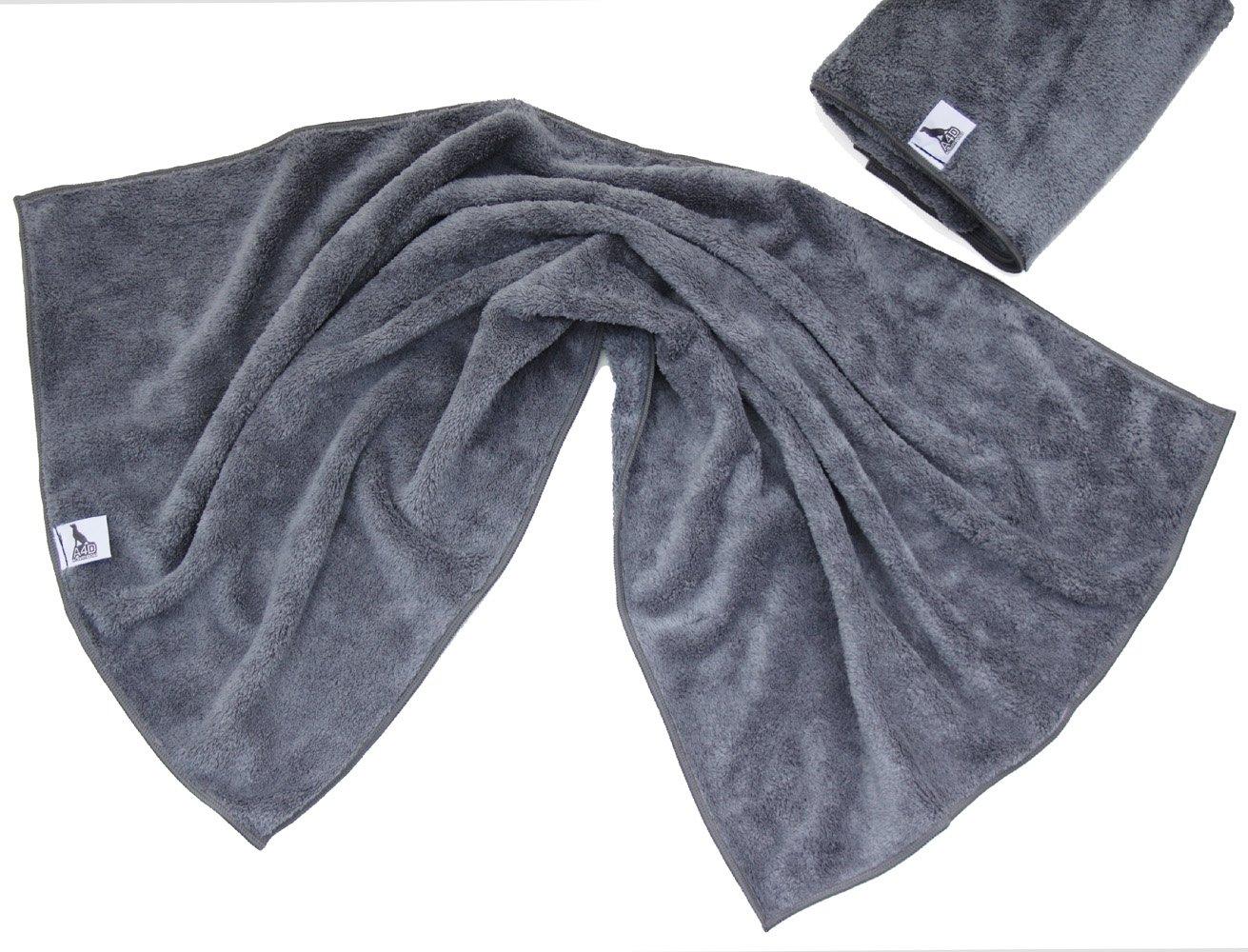 2er Set Hunde-Handtuch aus Microfaser sehr flauschig und super saugfähig schnelltrocknend bedeplus GmbH