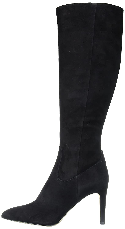 Sam Edelman Women's Olencia Knee High Boot B06XJL7WT4 6.5 B(M) US|Black Suede