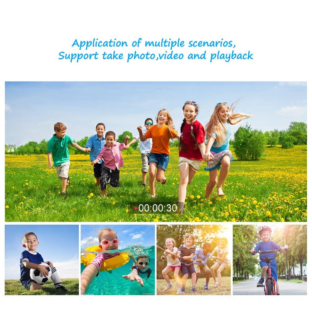 GAKOV GACD WiFi 1080P 2MP Underwater Kids Camera 20m Waterproof Sports Camera for Kids by GAKOV (Image #7)