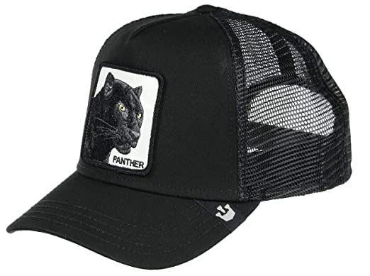 98cf7104f78ea1 Goorin Bros. Trucker Cap Black Panther Black - One-Size at Amazon Men's  Clothing store: