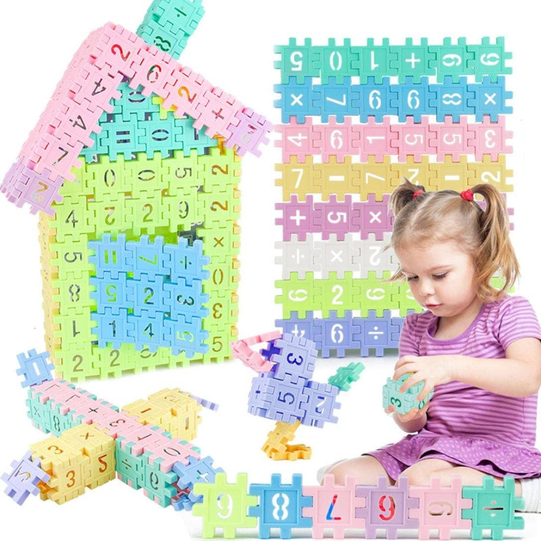 baby Educational Toy Kids Infant Wooden Geometry Developmental Building Blocks