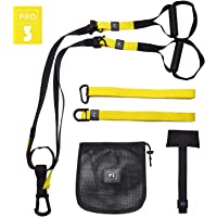 O RLY Schlingentrainer Sling Trainer Bodyweight Fitness Resistance Straps Trainer (P3 Pro3)