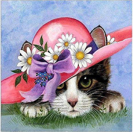 Taladro Completo Hazlo tú mismo bordado de flores animales 5D Diamante Pintura Decoración De Punto De Cruz