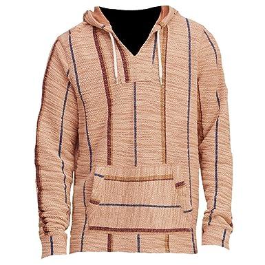 Hollister - Hombre - Hebilla Baja - Sudadera con Capucha - Sudadera - Manga Larga marrón Small: Amazon.es: Ropa y accesorios