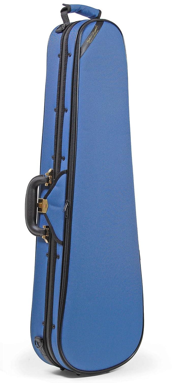 スーパーライト(Super Light) シェイプトバイオリンケース(三角型) スティールブルー   B01A86AKDW