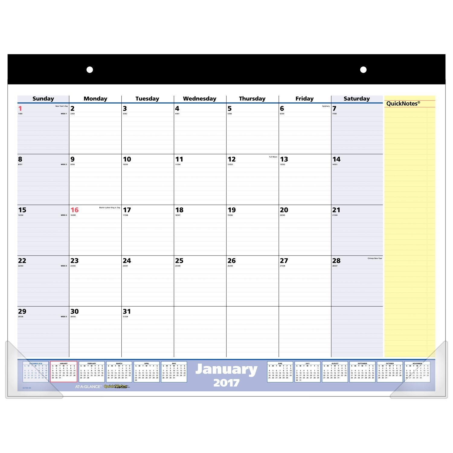 Desk Pad Calendars 2017 Hostgarcia