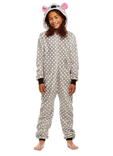 Jellifish Kids Pijamas de los niños - los Animales de Peluche con Cremallera Onesie Manta de Cama para Chicas: Amazon.es: Ropa y accesorios