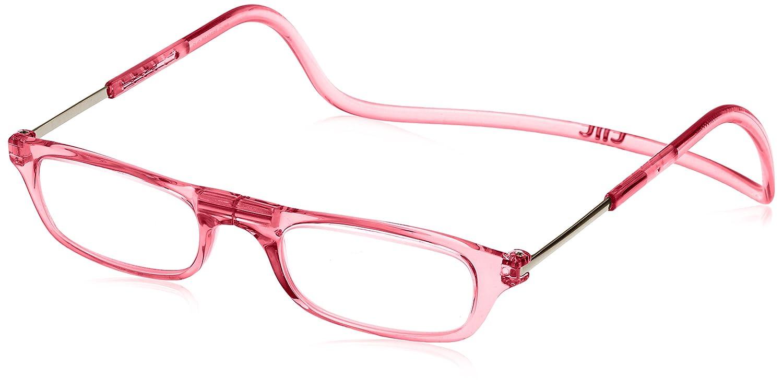 (クリックリーダー) Clic Readers 老眼鏡 B01N5RGS1F 薄型非球面レンズ+3.00|ピンク ピンク 薄型非球面レンズ+3.00